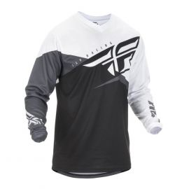 Fly 2019 F-16 MX Jersey (Black/White/Grey)-5XL