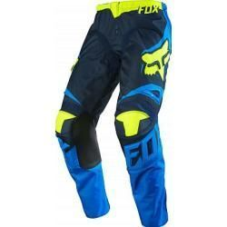 Fox 180 Pantalon Cross-Blue/Yellow