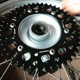 Rear Sprocket 428-54T Yamaha WR155