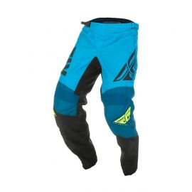 Fly F16 MX Pants - Blue/Black/Hi-vis