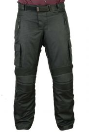 Mens Waterproof Cargo Motorcycle Trousers with CE Armour