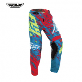 Fly 2017 Kinetic Relapse Adult Pant (Teal/Red/Hi-Viz)-Size 36