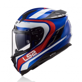 LS2 FF327 CHALLENGER FUSION BLUE RED Size M