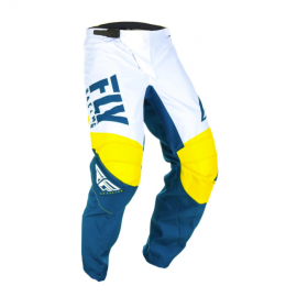 Fly 2019 F-16 Adult Pant (Yellow/White/Navy)-Size 38