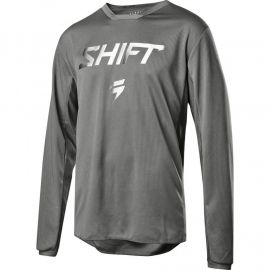 SHIFT WHITE LABEL HAUNTED SE 2019 GHOST GREY JERSEY-L